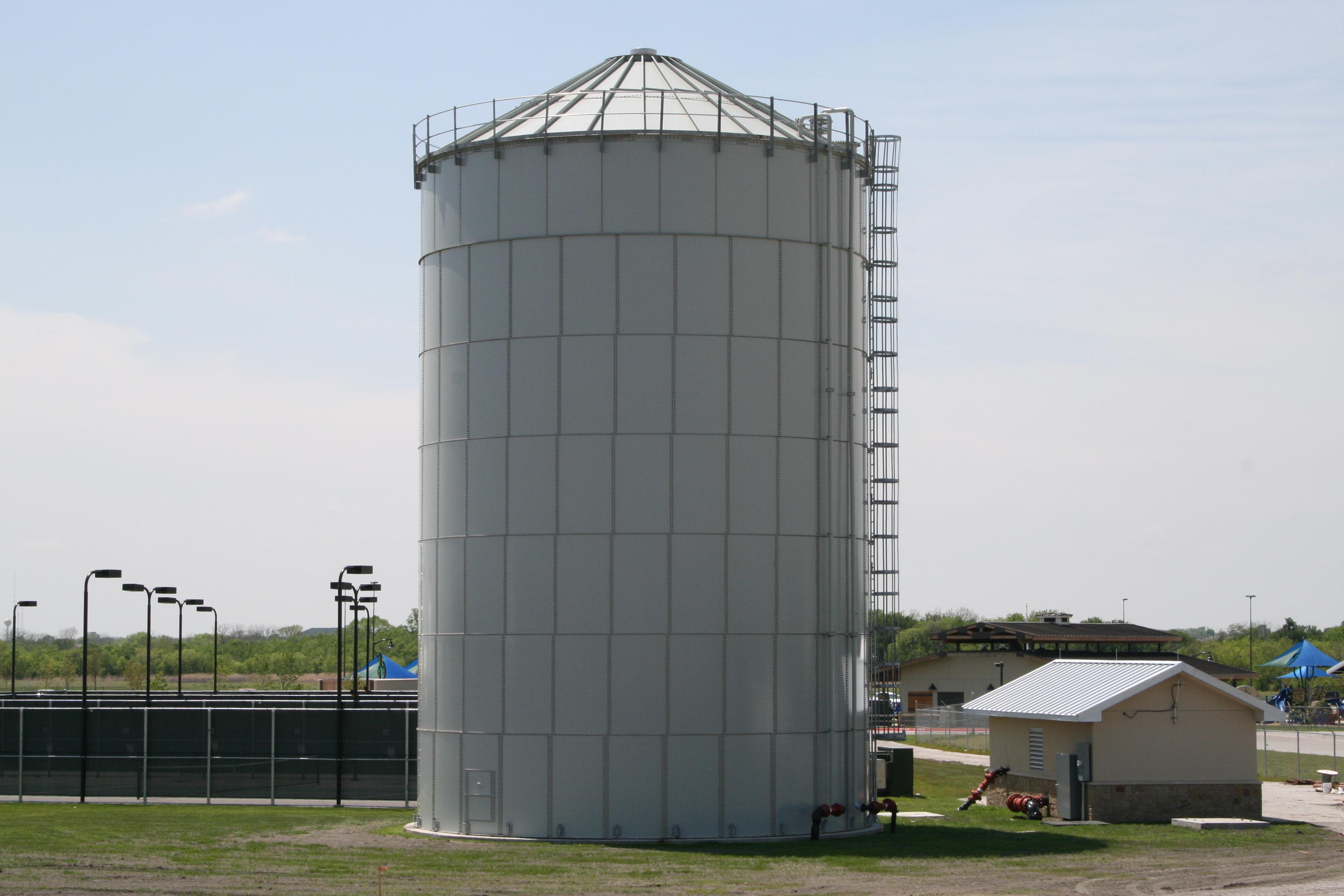 TecTank Epoxy Coated Liquid Storage Tanks Manufacturer