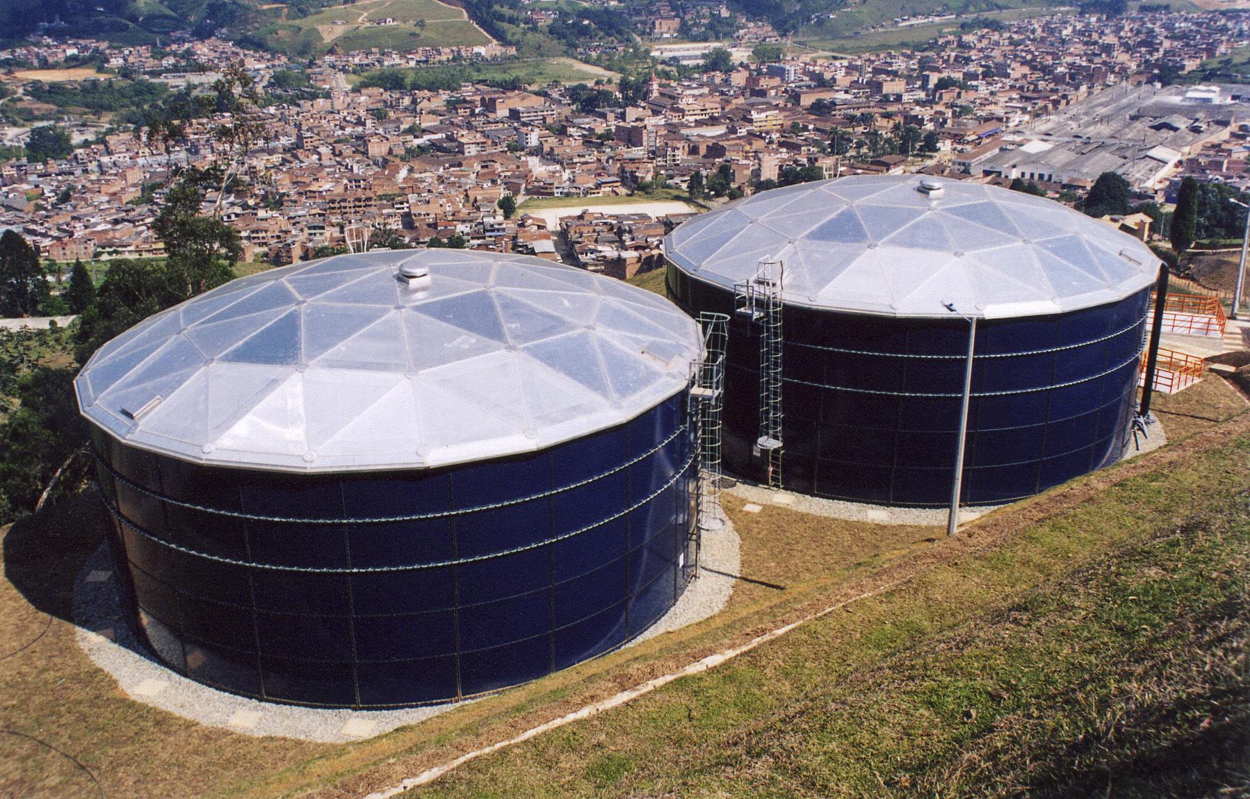 Water Storage Tanks : Above ground water storage tanks cst industries