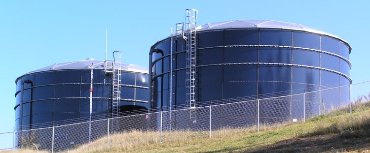 Above Ground Water Storage Tanks