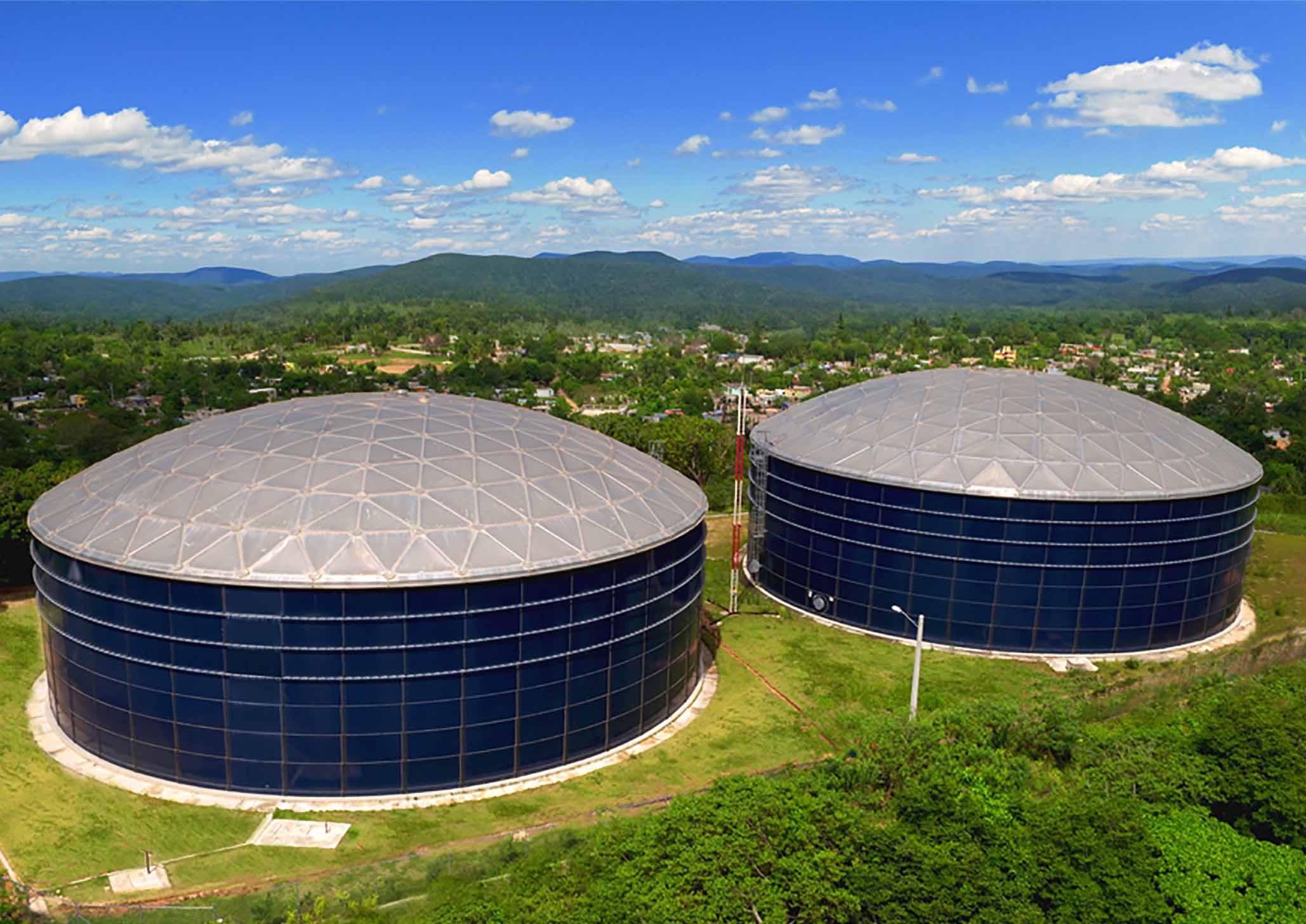 Above Ground Water Storage Tanks | CST Industries
