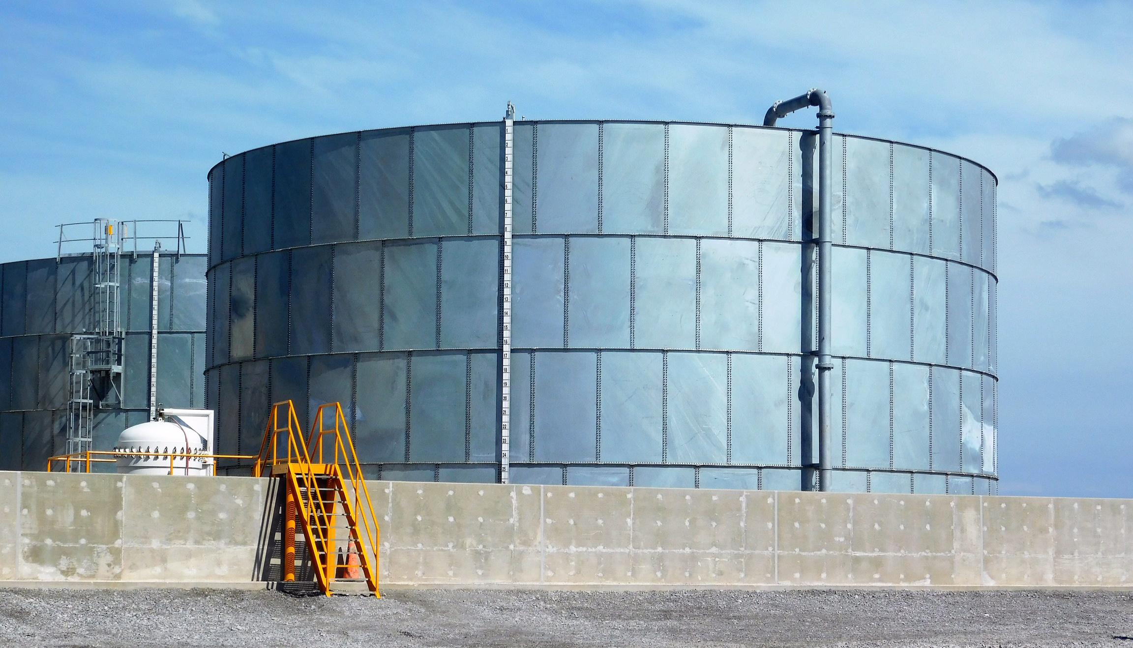 Galvanized Steel Water Storage Tanks Manufacturer | CST Industries