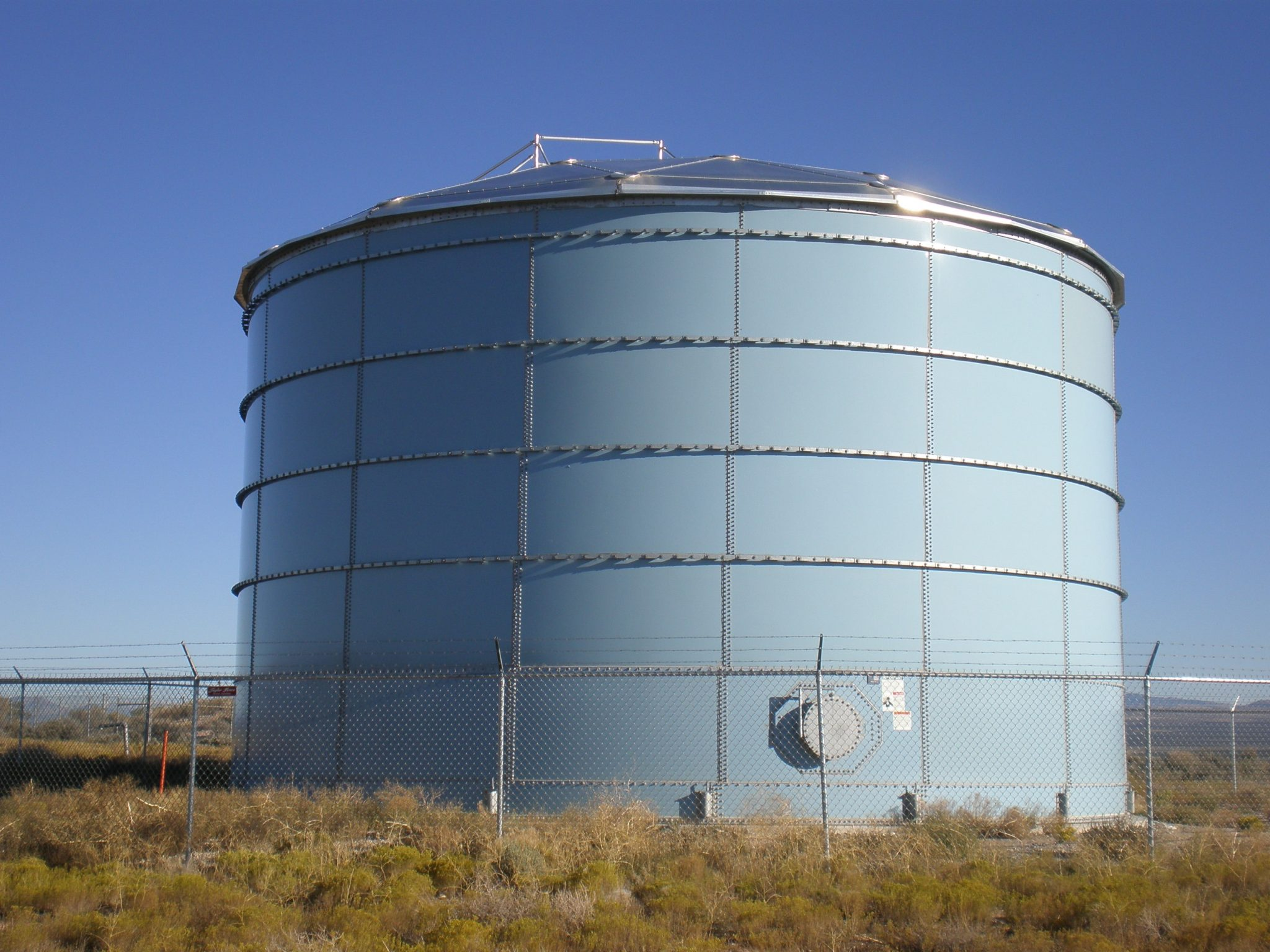 ... A Growing Community Expands Their Expectations & Aquastore Glass Lined Liquid Storage Tanks | CST Industries