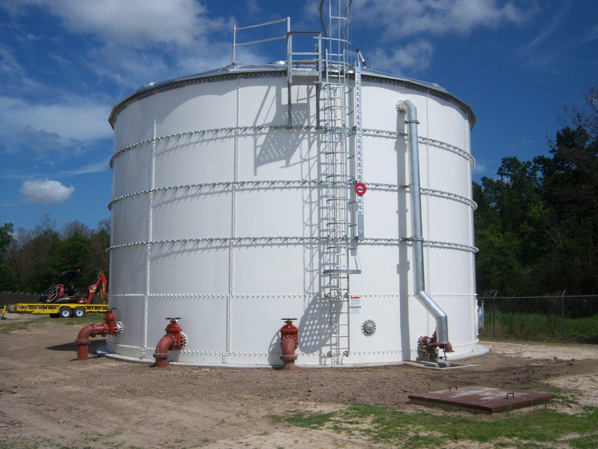 Aquastore Glass Lined Liquid Storage Tanks | CST Industries