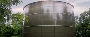 Aquastore Glass-fused-to-steel tank