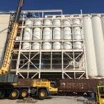 Factory Welded Dry Bulk Storage Silos