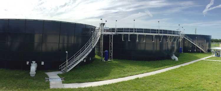 Aquastore Wastewater Equalization Storage Tanks